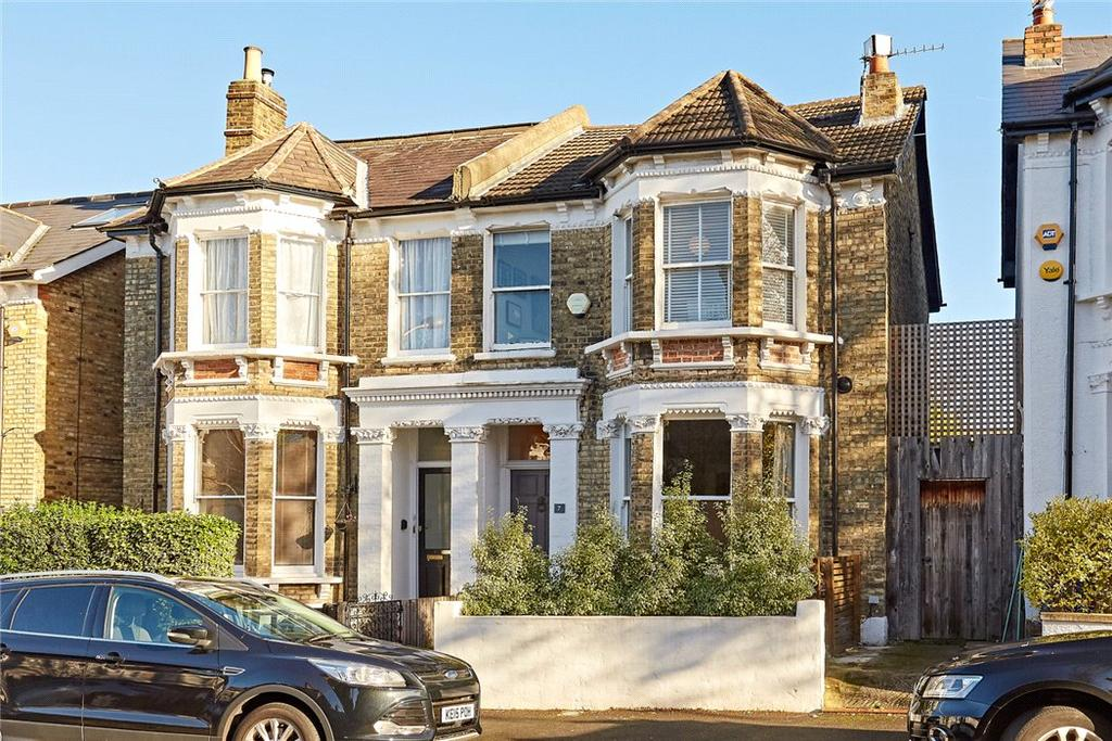 4 Bedrooms Semi Detached House for sale in Muschamp Road, East Dulwich, London, SE15