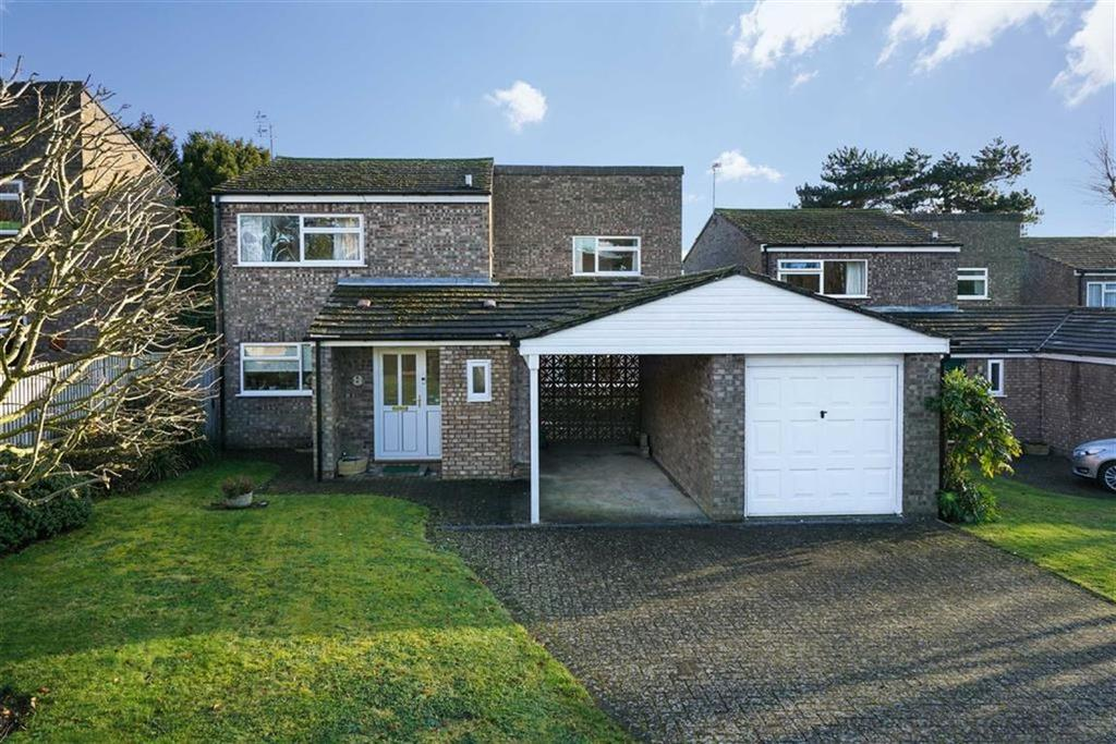 4 Bedrooms Detached House for sale in Anson Close, St Albans, Hertfordshire