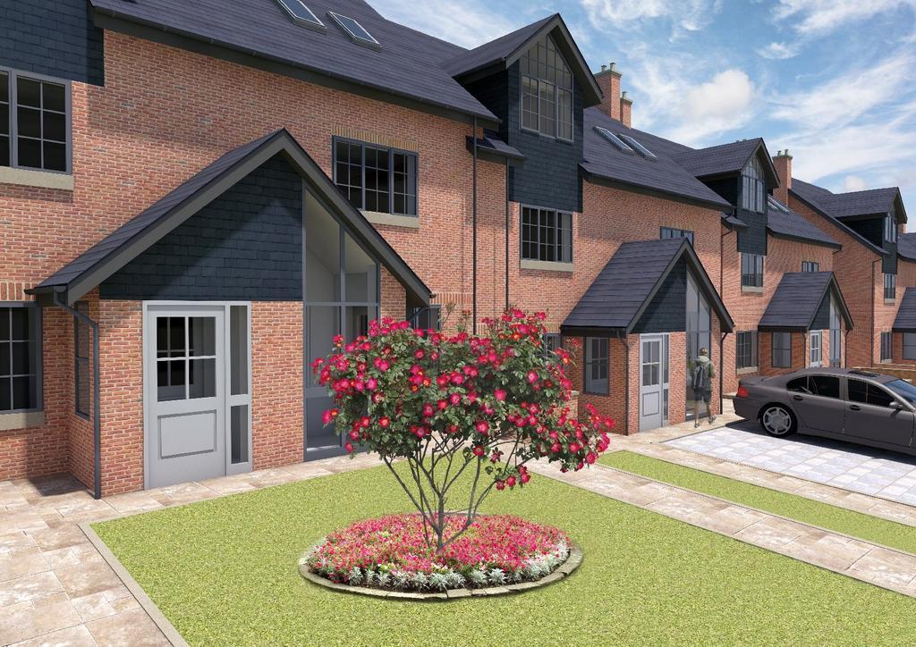 3 Bedrooms Semi Detached House for sale in Park Pavilion, Windsor Place, Congleton