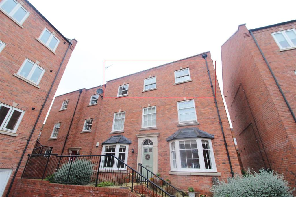 2 Bedrooms Apartment Flat for sale in St Julian's Mews, Williams Way, Shrewsbury