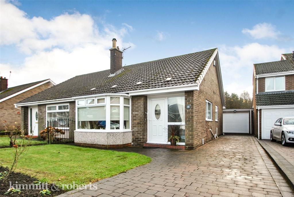 2 Bedrooms Semi Detached Bungalow for sale in Stanhope Close, Dairy Lane, Houghton le Spring, DH4