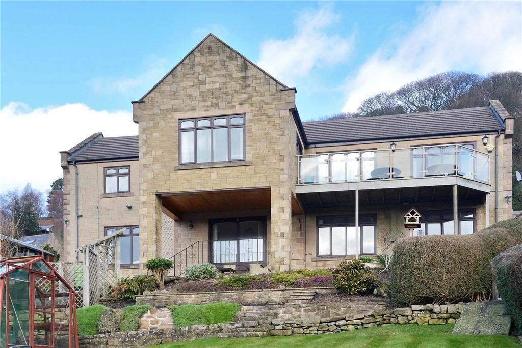 4 Bedrooms Detached House for sale in Lea Shaw, Holloway, Matlock, Derbyshire