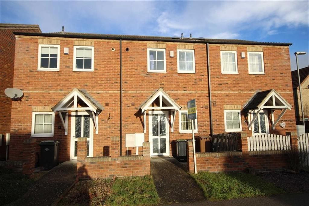 2 Bedrooms Terraced House for sale in Hortonfield Drive, Washingborough, Lincoln, Lincolnshire