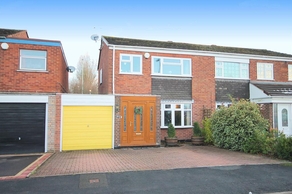 3 Bedrooms Semi Detached House for sale in Cherwell, Belgrave,Tamworth, B77 2LJ