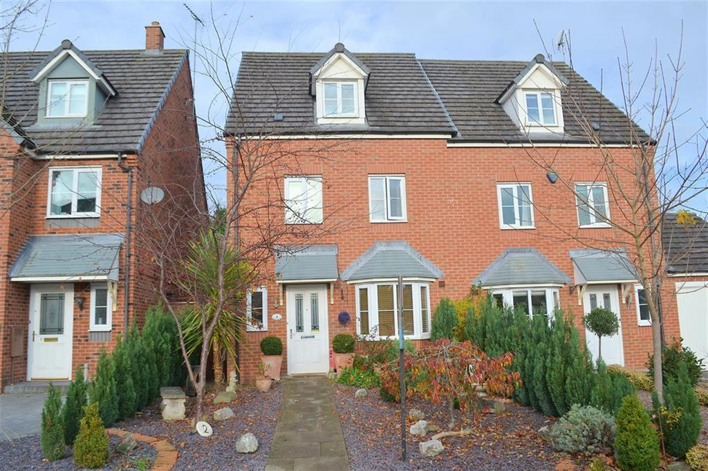 4 Bedrooms Semi Detached House for sale in The Lindens, Rugeley