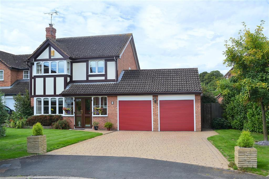 4 Bedrooms Detached House for sale in Epsom Close, Lichfield