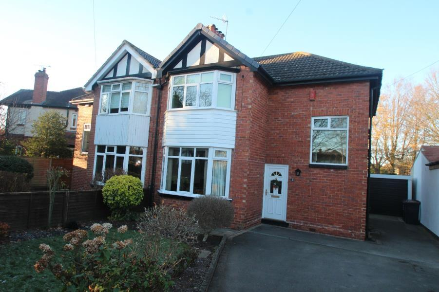 3 Bedrooms Semi Detached House for sale in ST.CLEMENTS ROAD SOUTH, HARROGATE, HG2 8LY