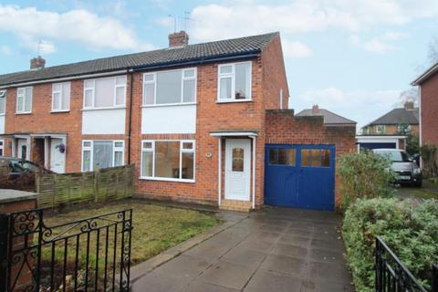 3 bedroom end of terrace house for sale - DERWENT ROAD, YORK, YO10 4HQ