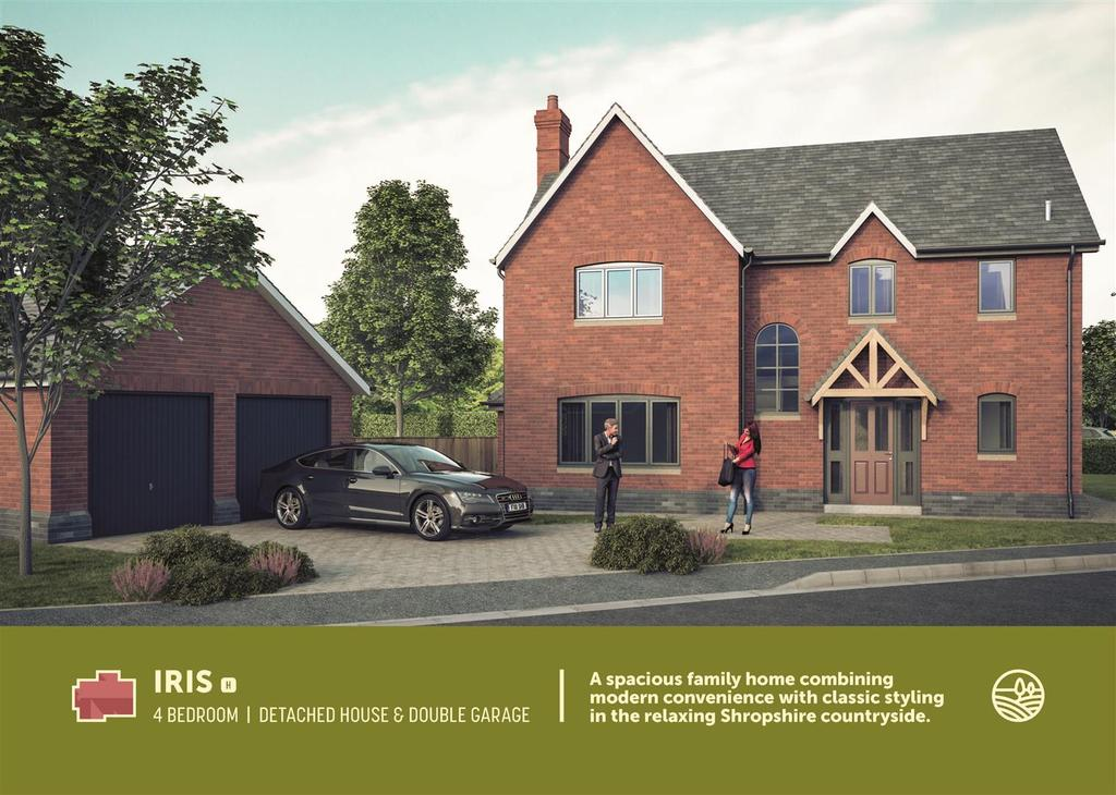 4 Bedrooms Detached House for sale in Park House Meadows, Park Hall Oswestry