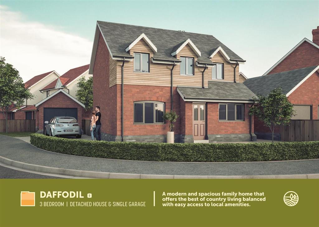 3 Bedrooms Detached House for sale in Park House Meadows, Park Hall Oswestry