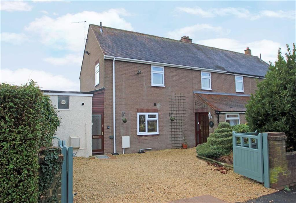 3 Bedrooms Semi Detached House for sale in Clee View, Ludlow, Shropshire