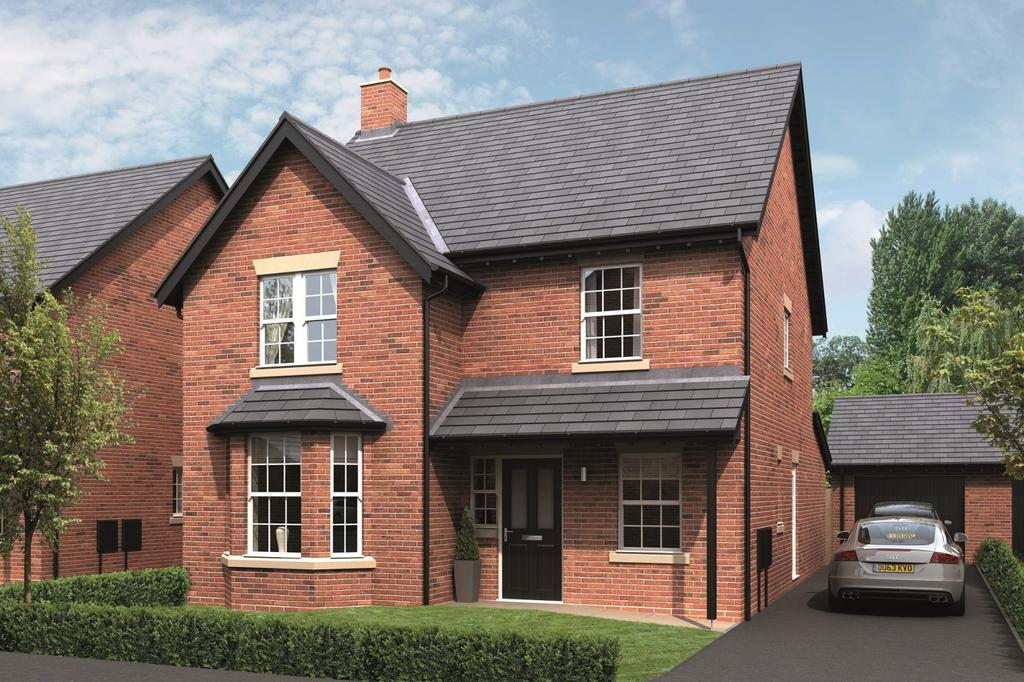 4 Bedrooms Detached House for sale in Farmers Court, Rushgreen Road, Lymm
