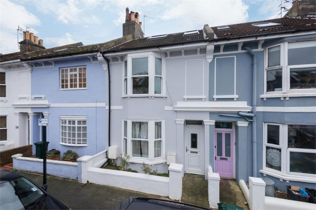 3 Bedrooms Terraced House for sale in Yardley Street, Brighton, East Sussex