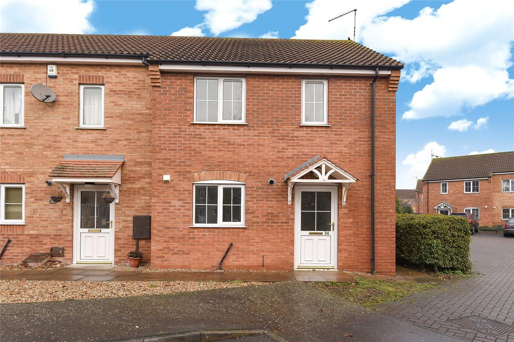 2 Bedrooms End Of Terrace House for sale in Blacksmiths Grove, Fishtoft, PE21