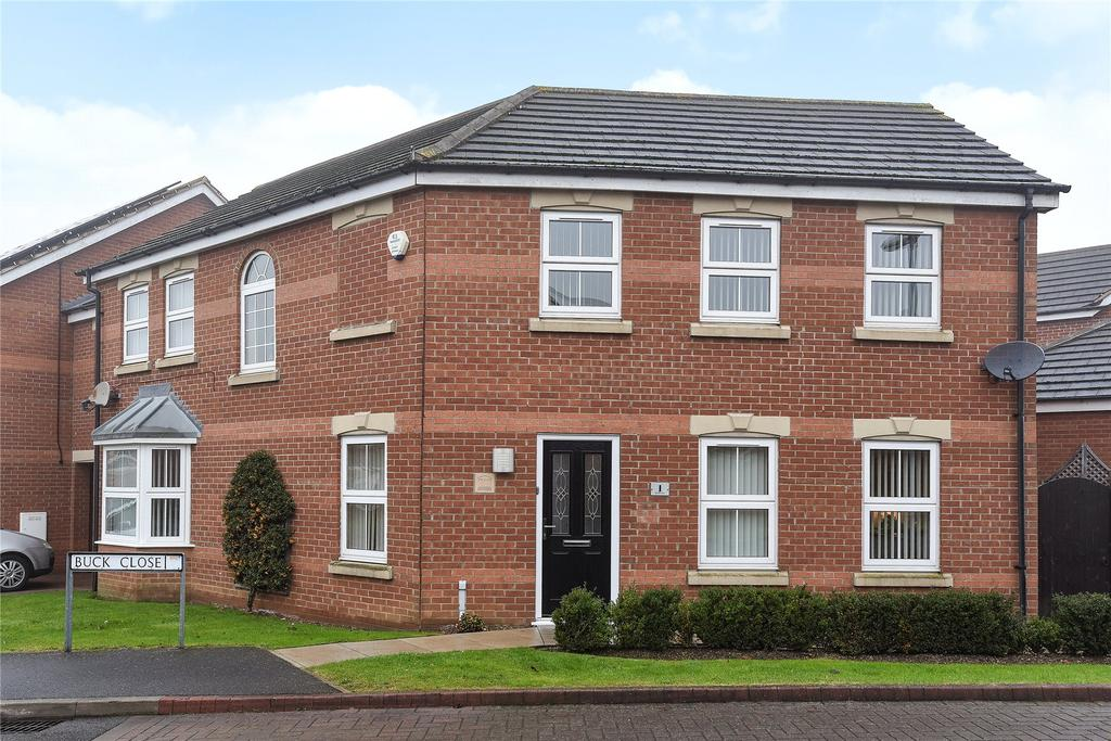 4 Bedrooms Link Detached House for sale in Buck Close, Lincoln, LN2
