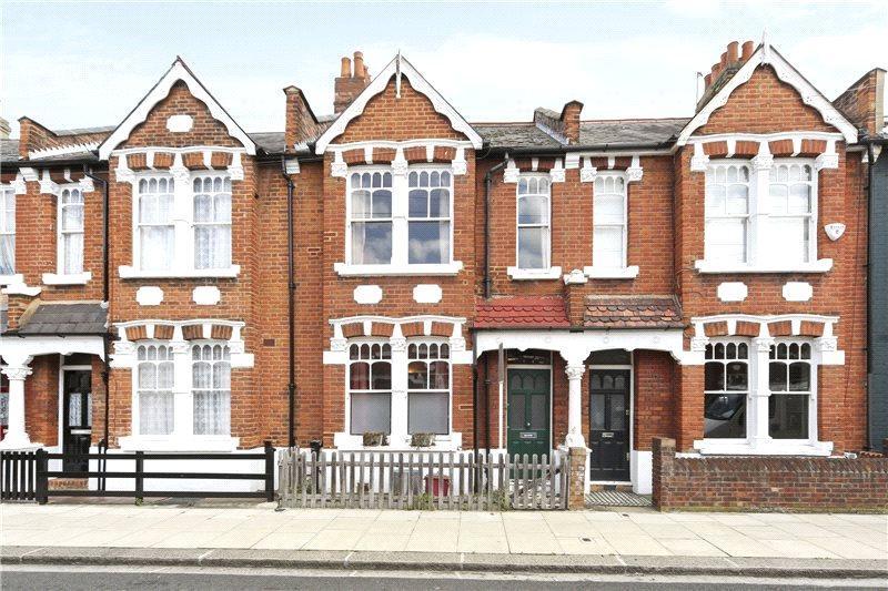 2 Bedrooms Terraced House for sale in Thorpebank Road, Shepherds Bush, London, W12