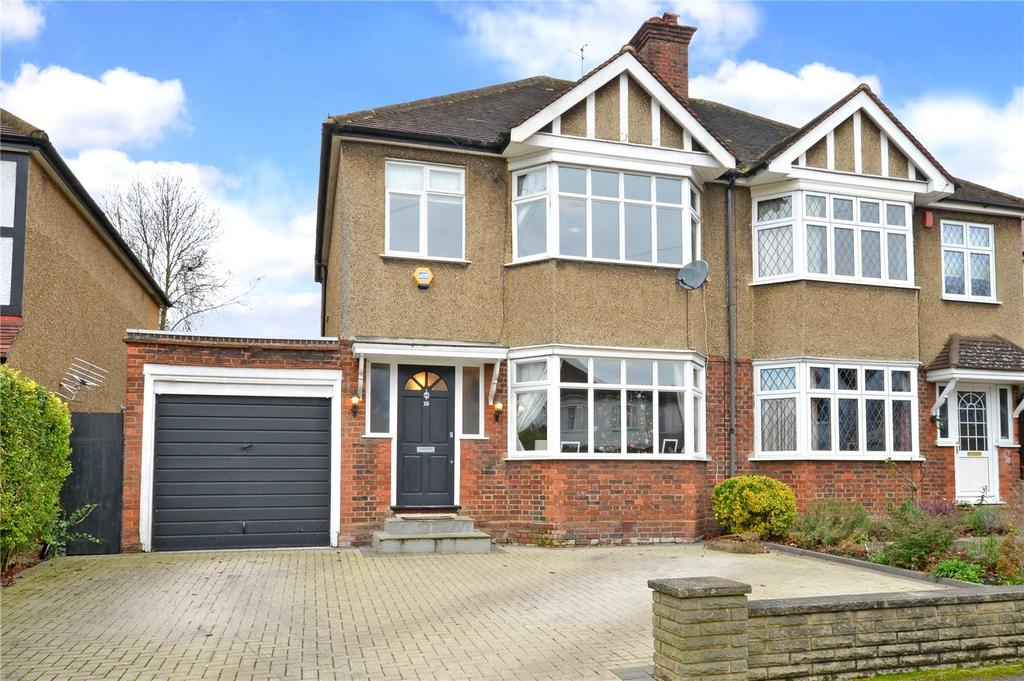 3 Bedrooms Semi Detached House for sale in Quarry Rise, Cheam, Sutton, SM1