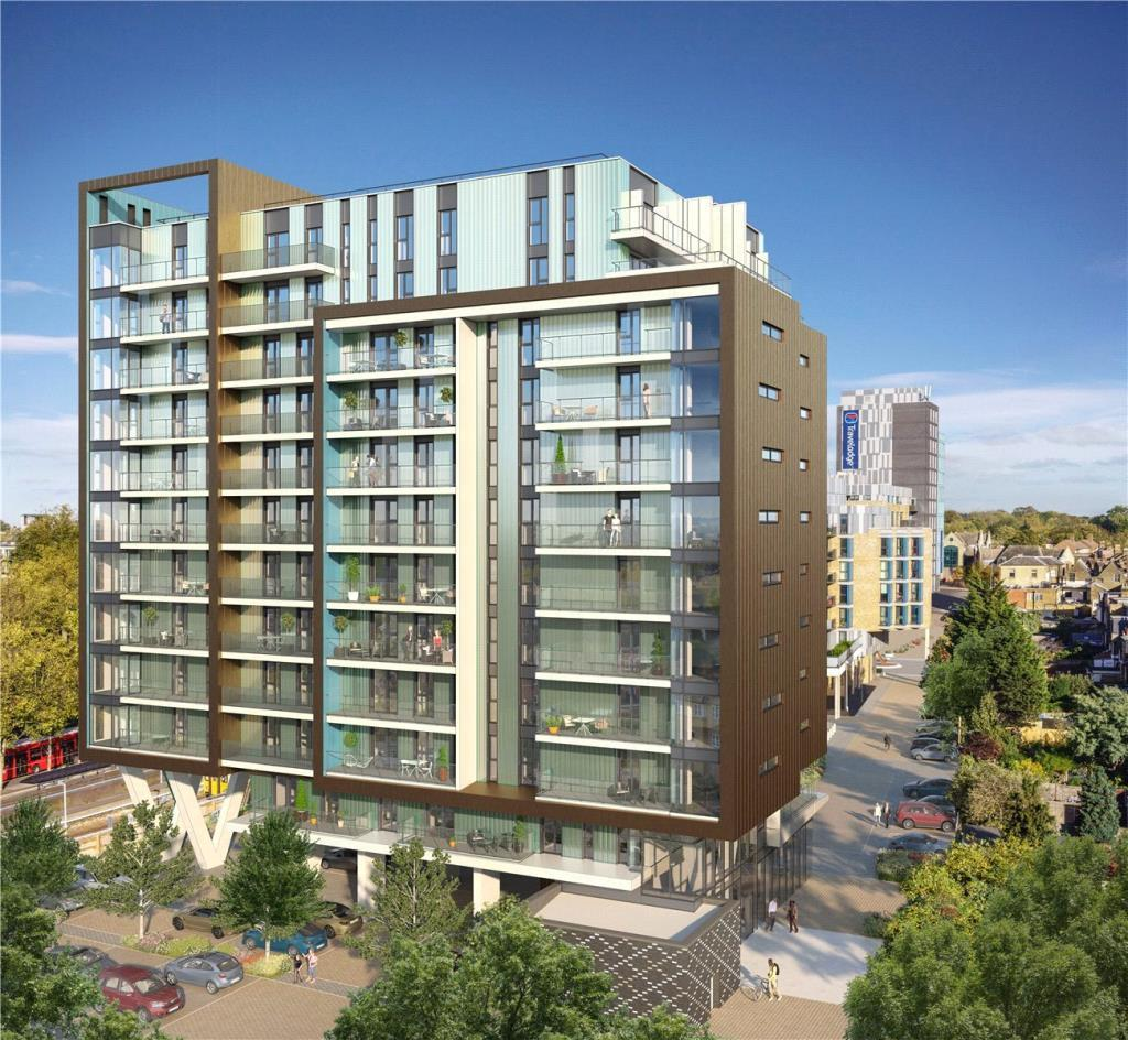 2 Bedrooms Flat for sale in Walthamstow Gateway, Station Approach, Walthastow, E17