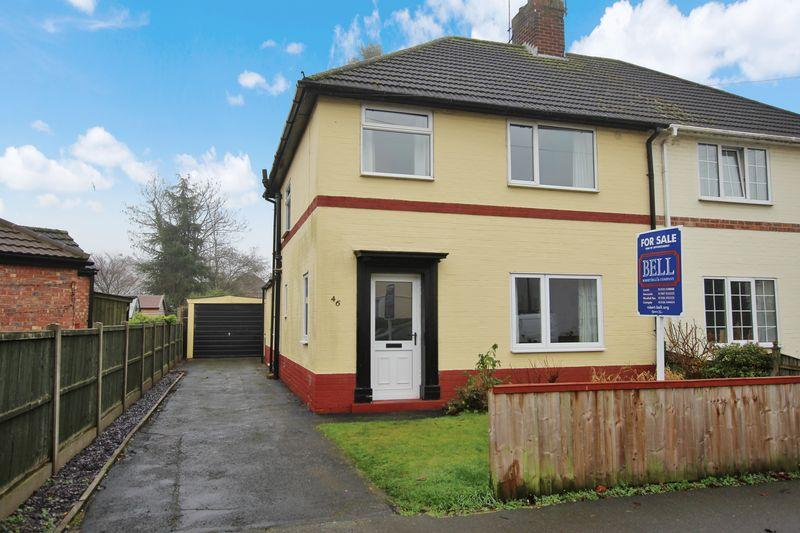 3 Bedrooms Semi Detached House for sale in 46 Hartsholme Drive, Lincoln