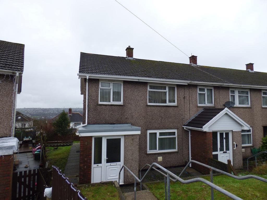 3 Bedrooms End Of Terrace House for sale in Caernarvon Way, Bonymaen, Swansea, SA1