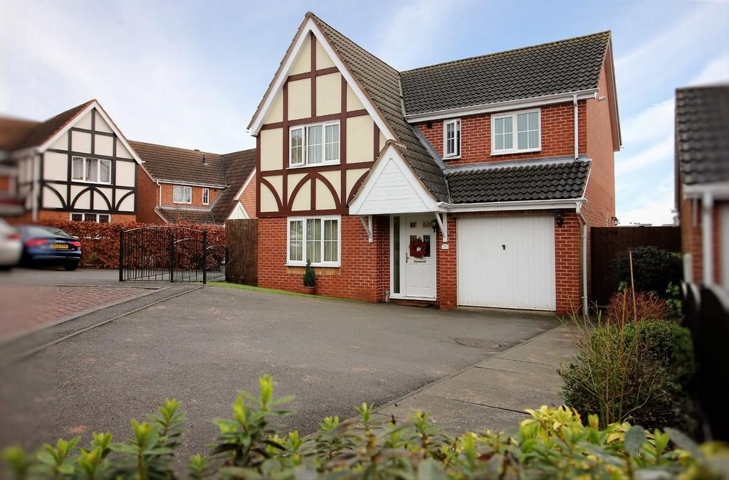 4 Bedrooms Detached House for sale in Hill Rise, Measham