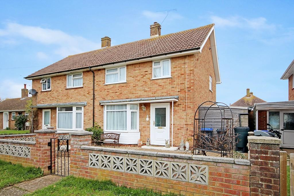 3 Bedrooms Semi Detached House for sale in Palmerston Avenue, Goring-by-sea, Worthing BN12 4RN