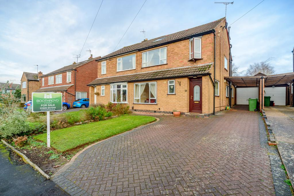 4 Bedrooms Semi Detached House for sale in Elmdene Road, Kenilworth