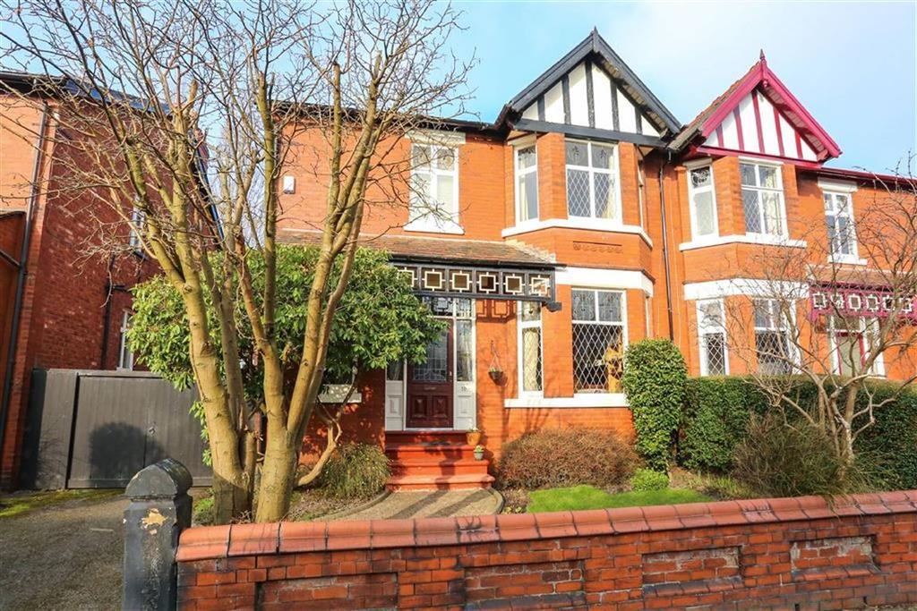 4 Bedrooms Semi Detached House for sale in Earl Road, Heaton Moor