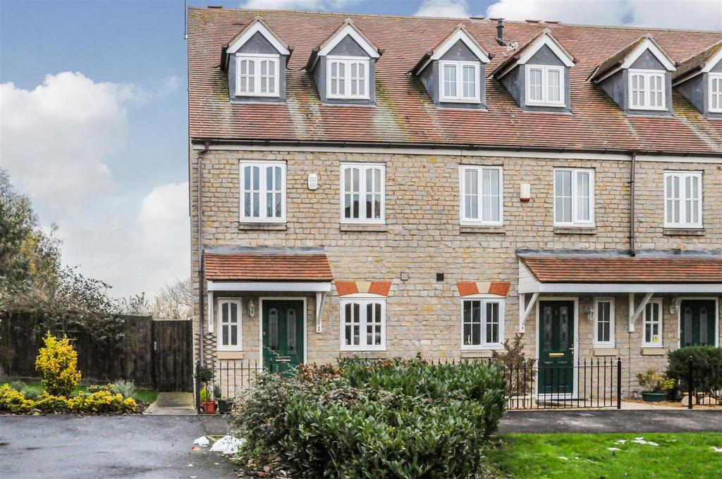 3 Bedrooms End Of Terrace House for sale in Parrish Close, Bishops Itchington