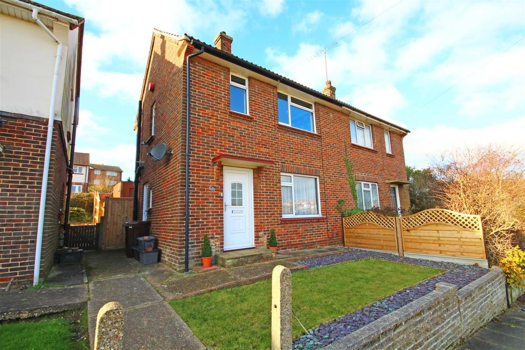 2 Bedrooms Semi Detached House for sale in Drove Crescent, Portslade, Brighton