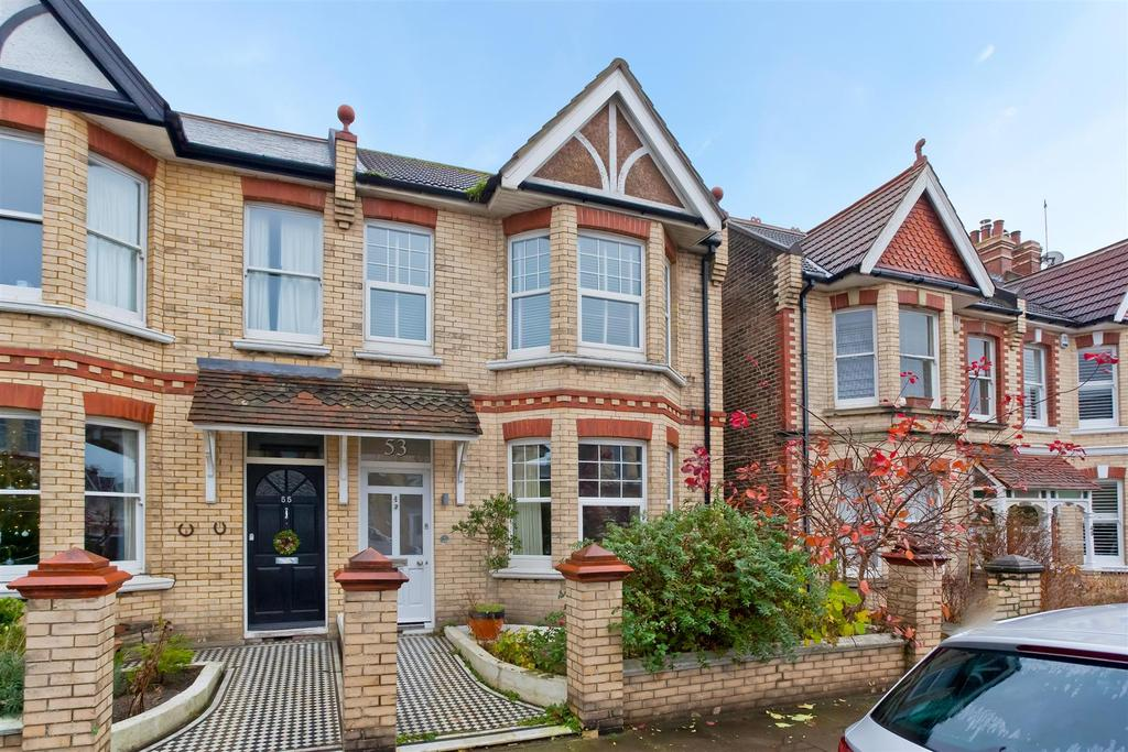 3 Bedrooms Semi Detached House for sale in Worcester Villas, Hove