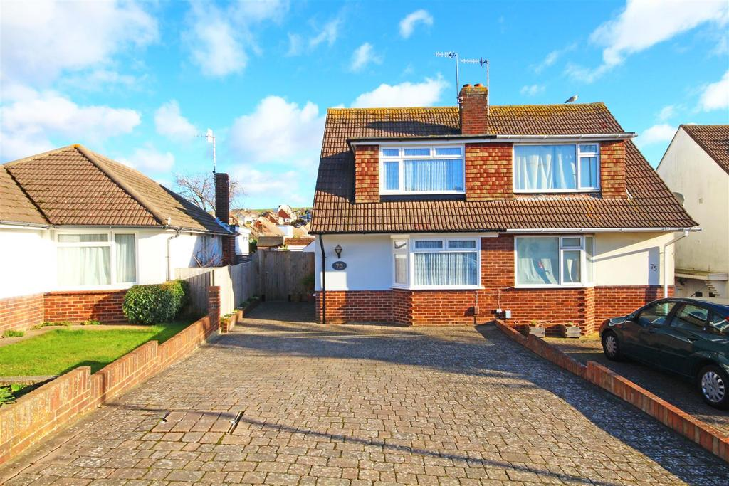 2 Bedrooms Semi Detached House for sale in Graham Avenue, Mile Oak, Brighton