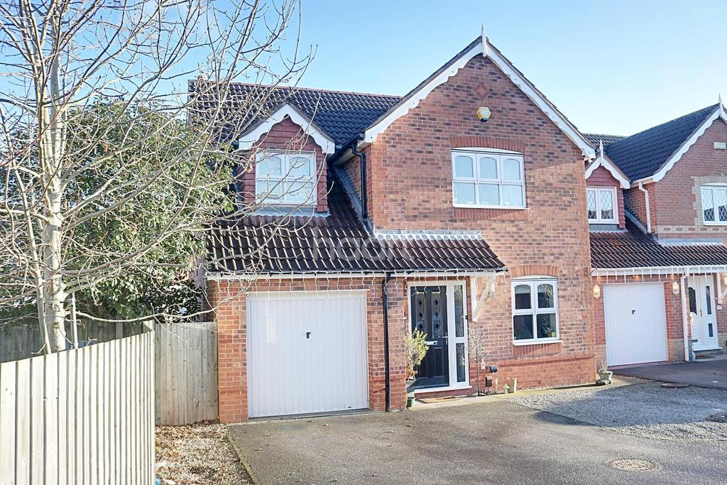 4 Bedrooms Detached House for sale in Vedonis Park, Hucknall