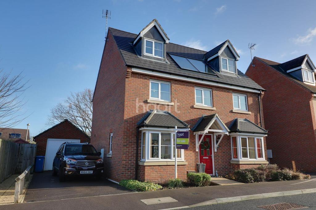 5 Bedrooms Detached House for sale in Wykery Copse, Bracknell