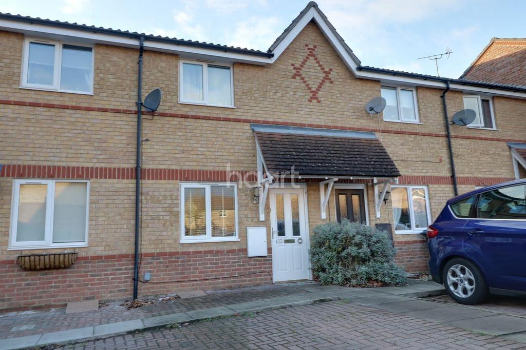 2 Bedrooms Terraced House for sale in Coalport Close, Harlow