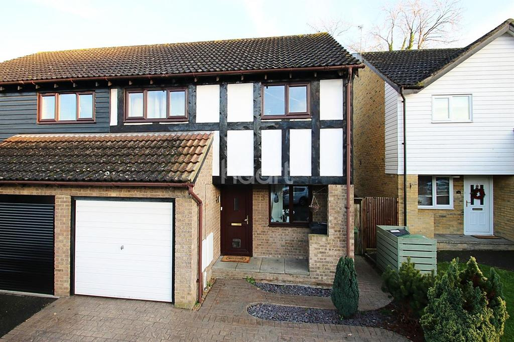 3 Bedrooms Semi Detached House for sale in The Beams, Maidstone, Kent, ME15