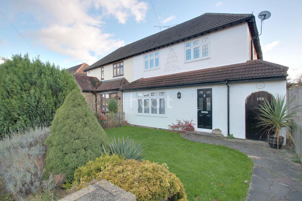 4 Bedrooms Semi Detached House for sale in Squirrels Heath Road, Harold Wood, RM3 0NA