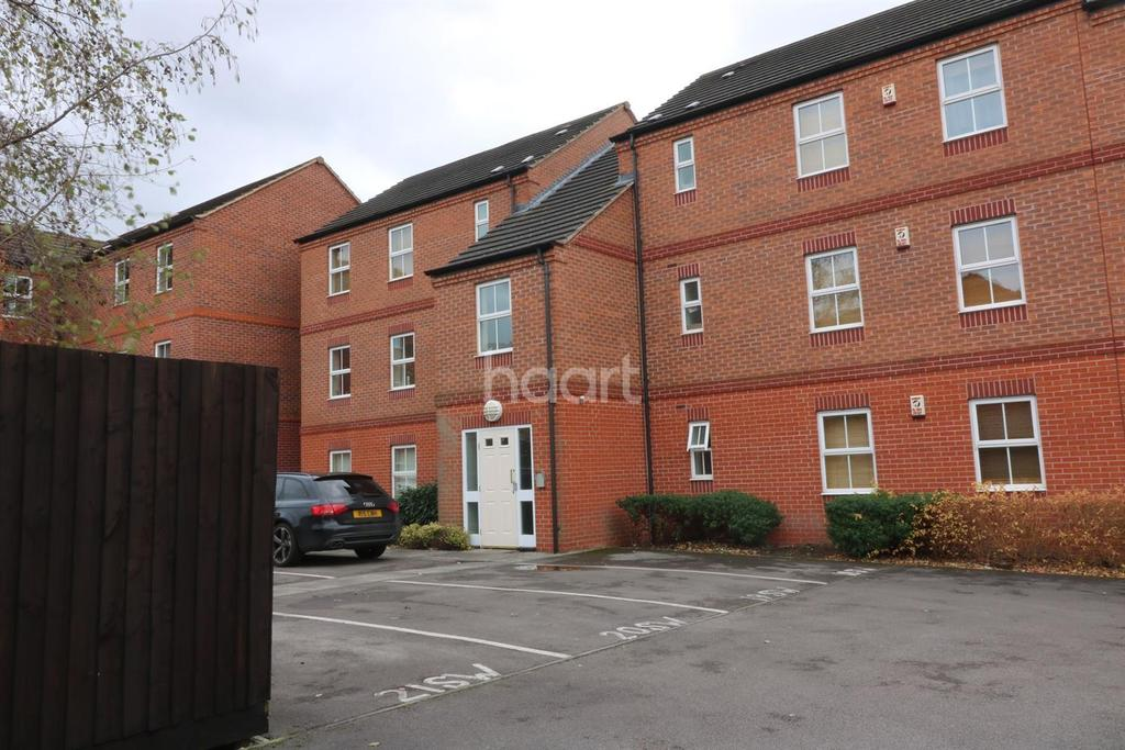 2 Bedrooms Flat for sale in Slaters Way, Bestwood, Nottingham