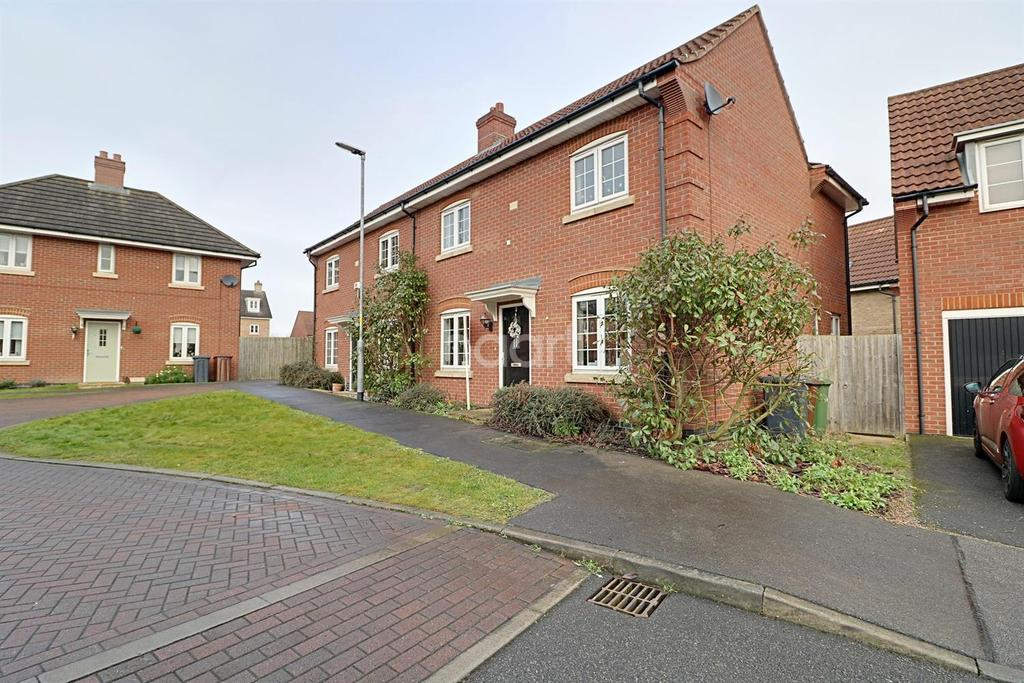 3 Bedrooms Semi Detached House for sale in Gabriel Crescent, Lincoln
