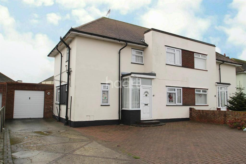 3 Bedrooms Semi Detached House for sale in Stirling Way, Ramsgate,CT12