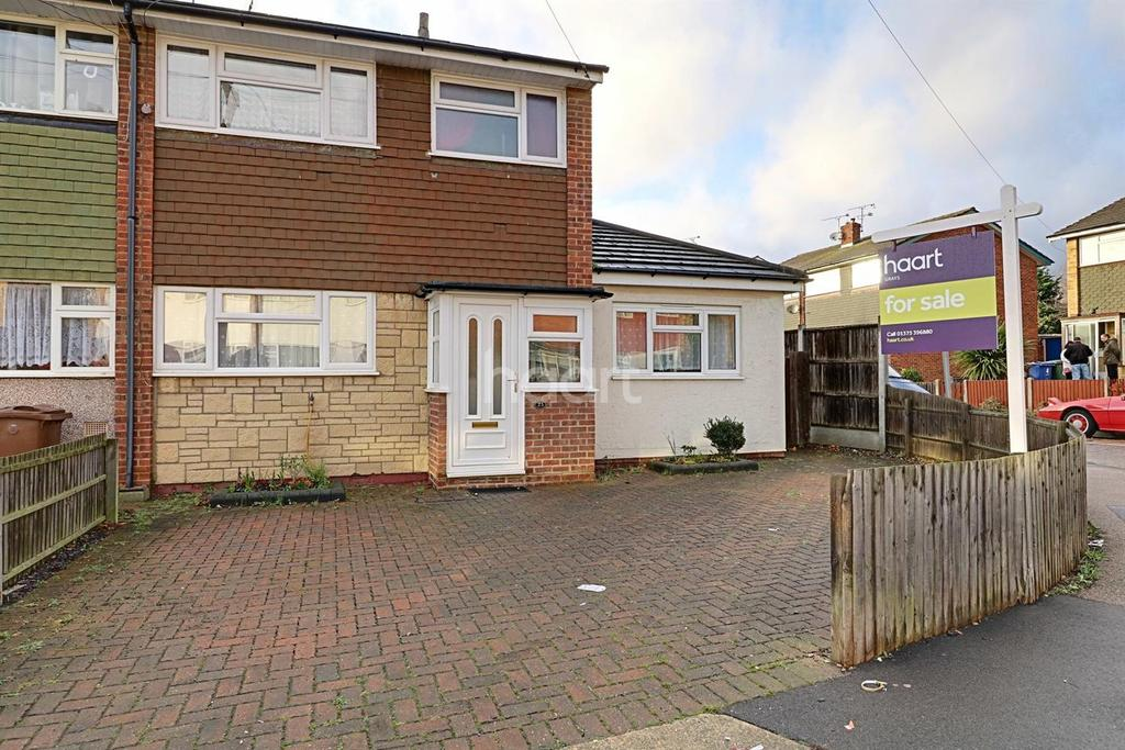 4 Bedrooms End Of Terrace House for sale in Hollowfield Avenue, Grays