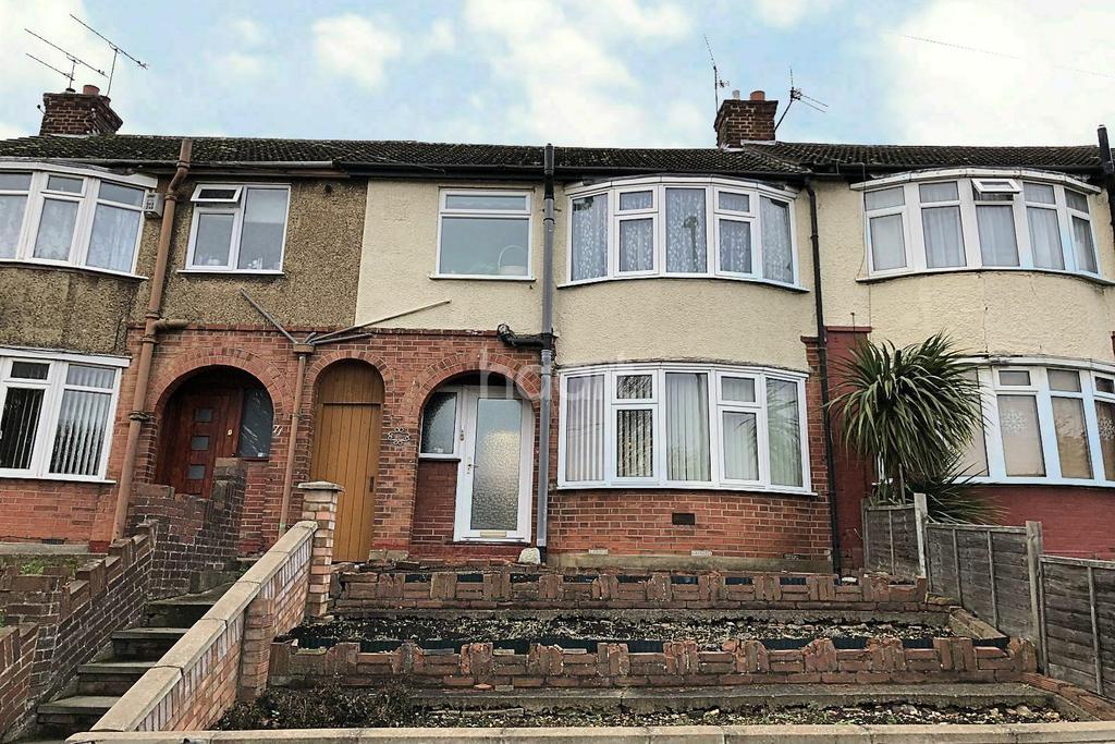 3 Bedrooms Terraced House for sale in Bramingham Road, LU3