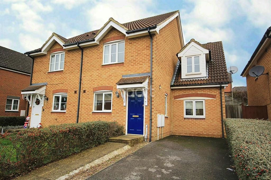 4 Bedrooms Semi Detached House for sale in Forest Avenue, Orchard Heights, Ashford