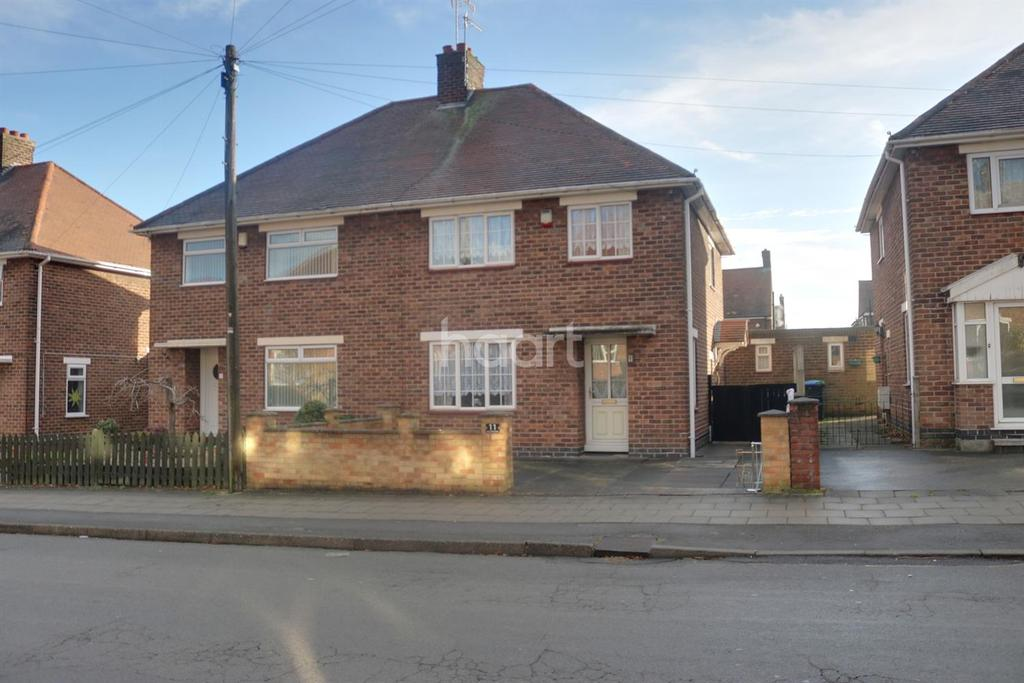 3 Bedrooms Semi Detached House for sale in Rushcliffe Road, Hucknall