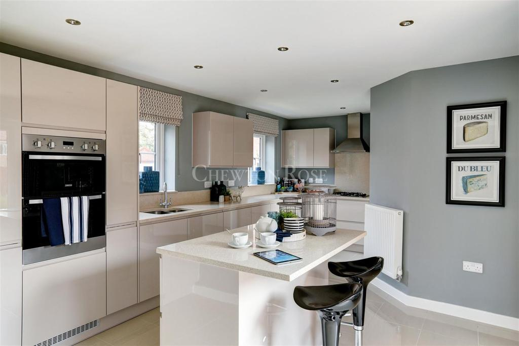 4 Bedrooms Detached House for sale in Plot 011, The Canterbury, Saxon Fields