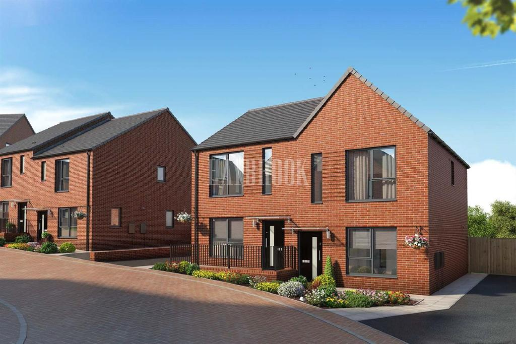 2 Bedrooms Semi Detached House for sale in Plot 58 Park Grange Road, Sheffield S2