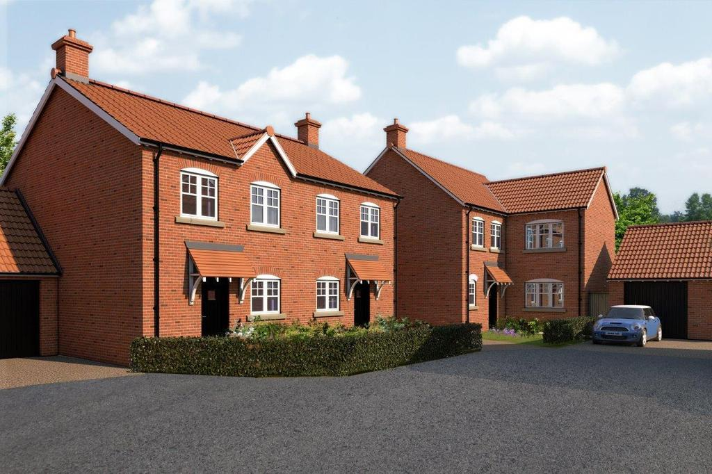 4 Bedrooms Detached House for sale in Blacksmith Court, Cliffe, Selby