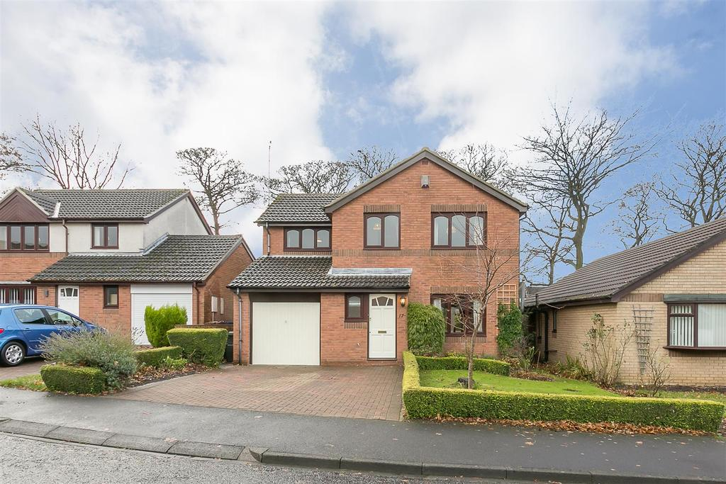 4 Bedrooms Detached House for sale in Daylesford Drive, South Gosforth, Newcastle upon Tyne