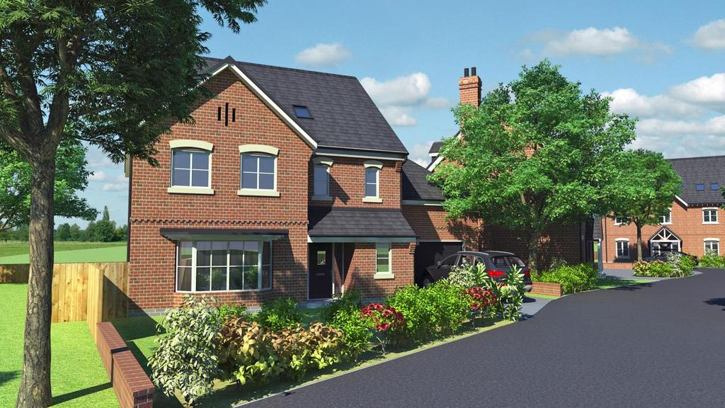 5 Bedrooms Detached House for sale in 2 Winney Hill View, Ellesmere Road, Shrewsbury