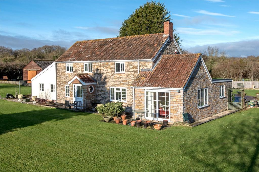 4 Bedrooms Detached House for sale in West Hatch, Taunton, Somerset